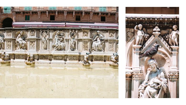 Fontana Gaia a Siena