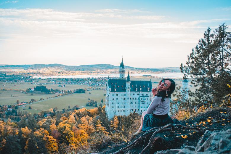 vista da punto panoramico segreto sopra Marienbrucke