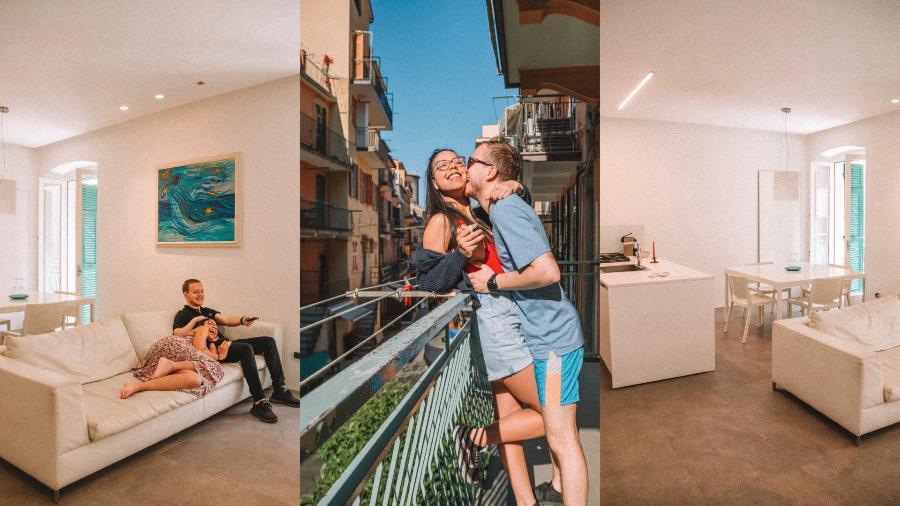 Arbaspaa appartamenti, Cinque Terre