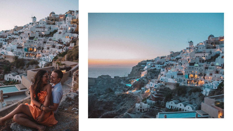 Cosa vedere a Santorini: tramonto ad Oia